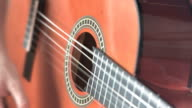 Slow Motion - Guitar Player Close Up video