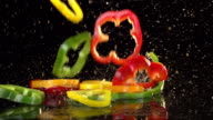 Slow Motion Peppers video