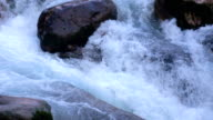 Slow Motion Shot of Water stream video