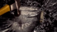 Slow Motion Smash - Cocaine Lines and Glass video