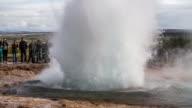 Slow Motion Strokkur Geyser eruption - Iceland video