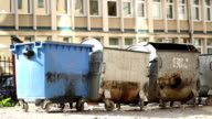 Slum Garbage Dumpsters video