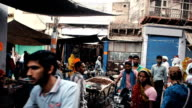 Slums of Agra video