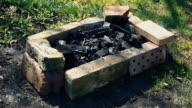 small bonfire video