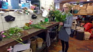 4K: Small Business Florist video