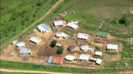 Small Farms In Valley Of A 1000 Hills  - Aerial View - KwaZulu-Natal,  South Africa video