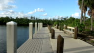 Small jetty in South Beach video