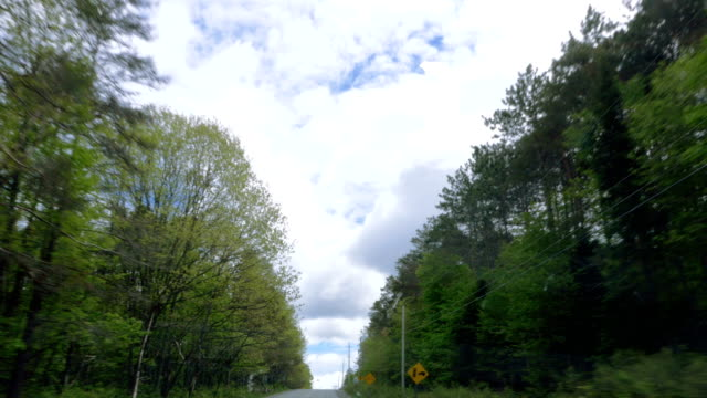 Small Provincial Road in Southern Ontario video