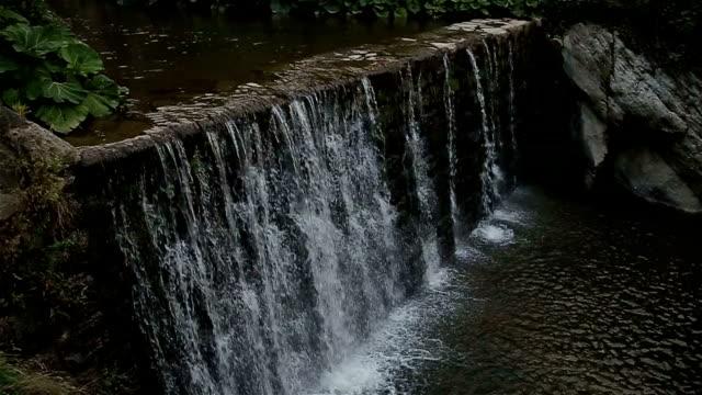 small waterfall video