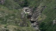 Small Waterfalls North Of Belo Horizonte  - Aerial View - Minas Gerais, Brazil video
