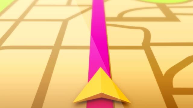 Smart Phone Navigation GPS Maps video