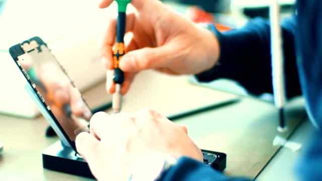 Smart phone service. video