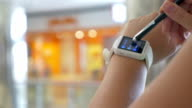 Smart Watch on the Wrist of User video