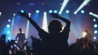 Smartphone at concert video