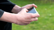 Smartphone in Aktion video