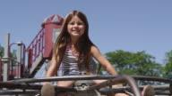Smiles at playground video