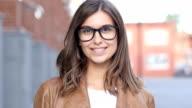 Smiling Successful Female Designer video
