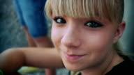 HD: Smiling Teenage Girl video