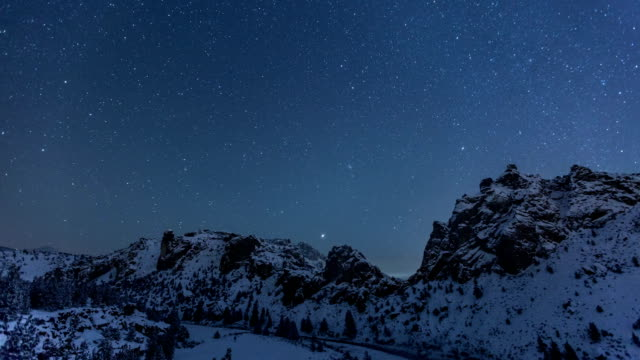 Smith Rocks Night Stars video