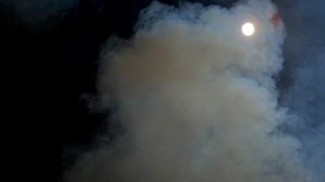 Smoke and light video