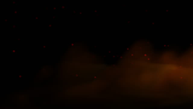 smoke and particle background video