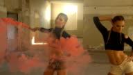 Smoke dance video