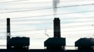 Smoke from Power Plant video