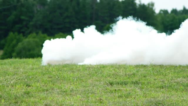 Smoke slow motion video
