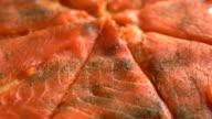 smoked salmon pizza video