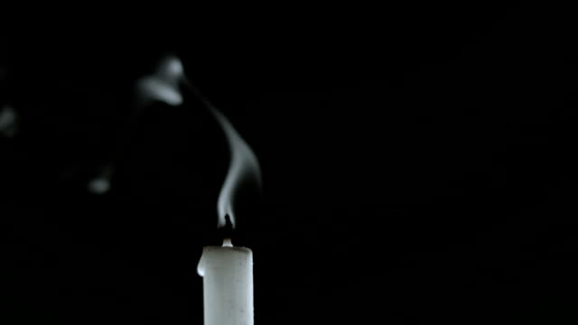 Smoking Candle video
