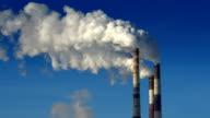 Smoking chimneys video