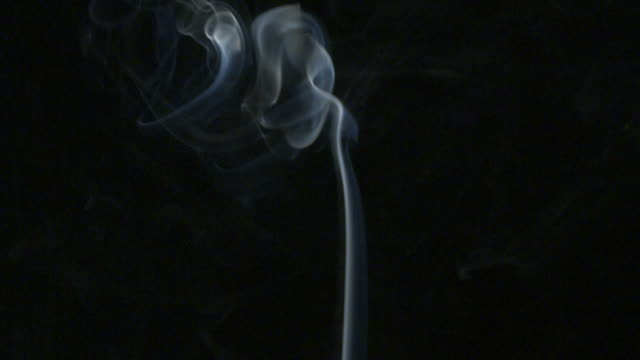 smoking cigarette slow motion video