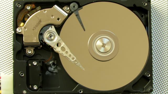 Smoking hard drive video