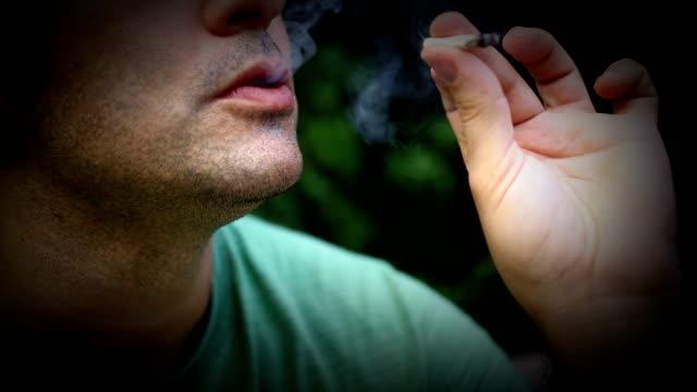 Smoking pot. video