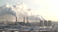 smoking power plant video