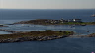 Smuttynose Island - Aerial View - New Hampshire,  Rockingham County,  United States video