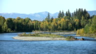 Snake River with Autumn Colors video