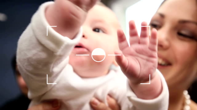 Snapshot of a beautiful little baby video