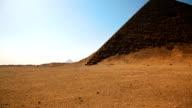 Sneferu's Red Pyramid near Cairo Egypt video