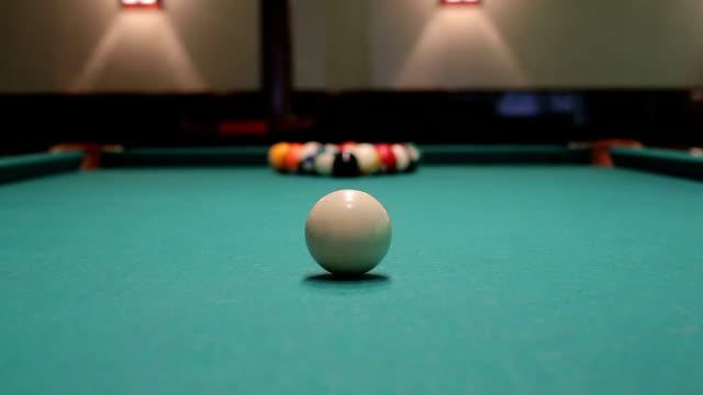 Snooker billiard video