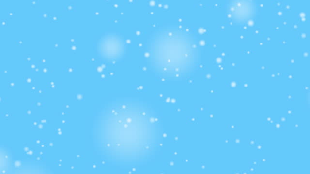 Snow Backdrop video