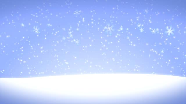 Snow Background Loop video