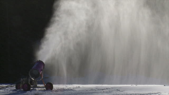 Snow Cannon In The Sunlight video