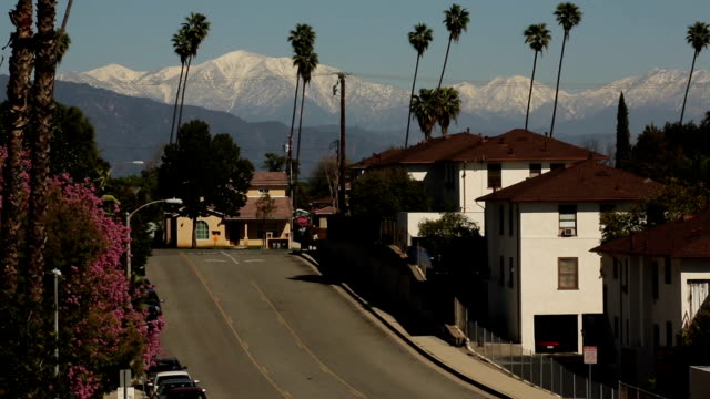 Snow Capped Mountains: Los Angeles video