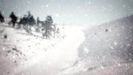 Snow Falling - Loopable video