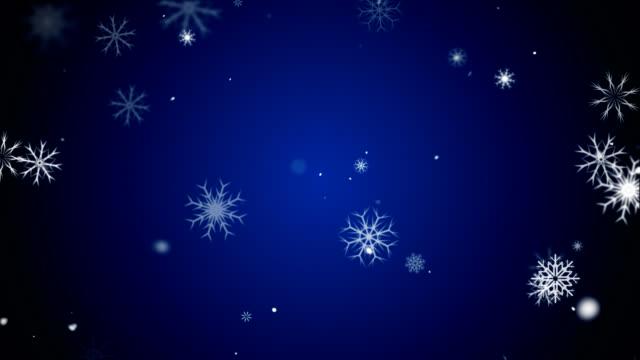 Snow Flakes - Blue video