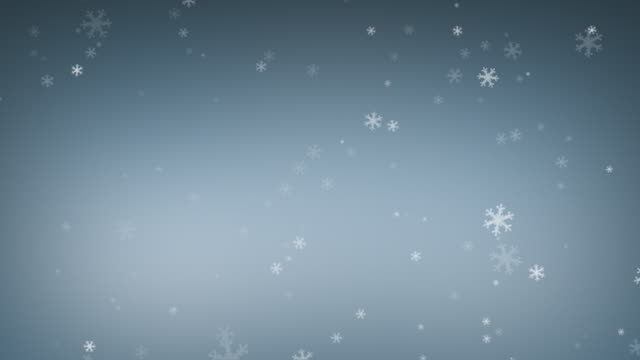 Snow Flakes Loopable video