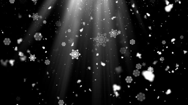 Snow Flakes Rays 3 video