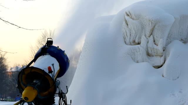 HD - Snow generator video