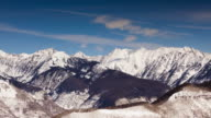 Snow in the Rocky Mountains - Time Lapse video